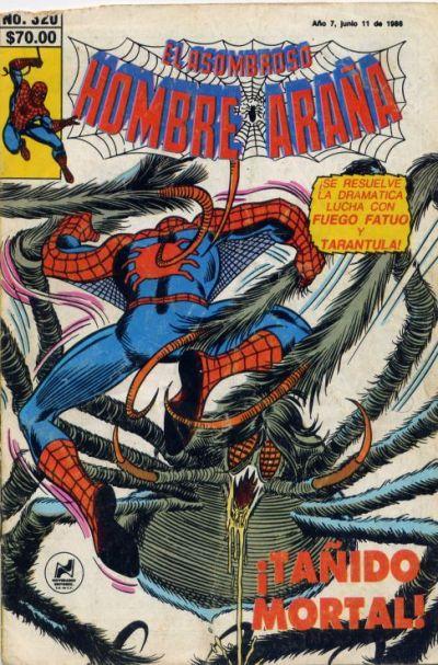 Cover for El Asombroso Hombre Araña (Novedades, 1980 series) #320