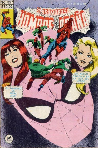 Cover for El Asombroso Hombre Araña (Novedades, 1980 series) #327