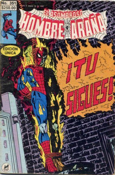 Cover for El Asombroso Hombre Araña (Novedades, 1980 series) #351