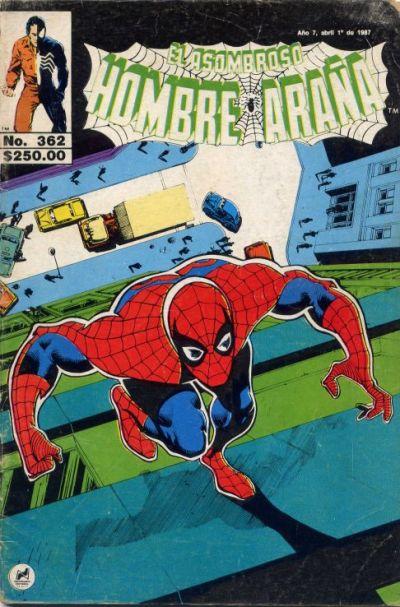 Cover for El Asombroso Hombre Araña (Novedades, 1980 series) #362