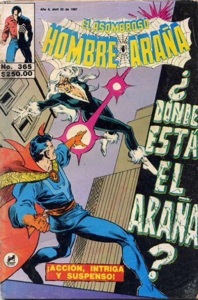 Cover for El Asombroso Hombre Araña (Novedades, 1980 series) #365