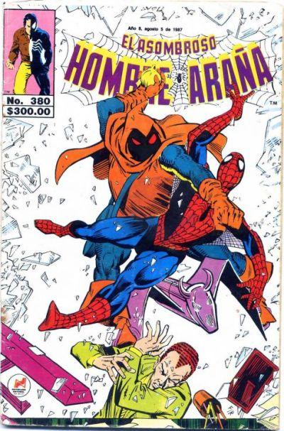 Cover for El Asombroso Hombre Araña (Novedades, 1980 series) #380
