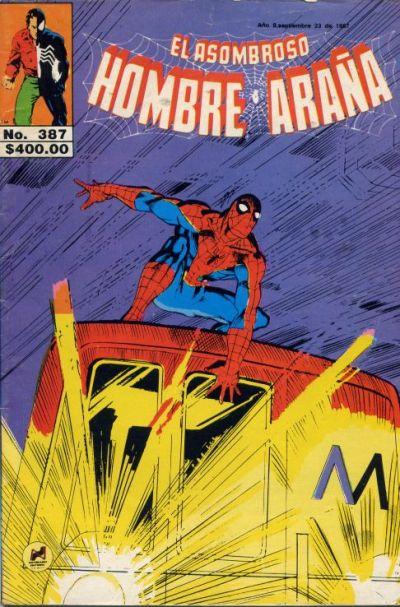 Cover for El Asombroso Hombre Araña (Novedades, 1980 series) #387