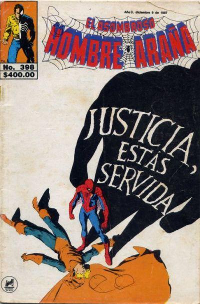 Cover for El Asombroso Hombre Araña (Novedades, 1980 series) #398