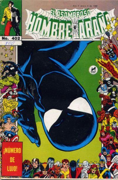 Cover for El Asombroso Hombre Araña (Novedades, 1980 series) #402