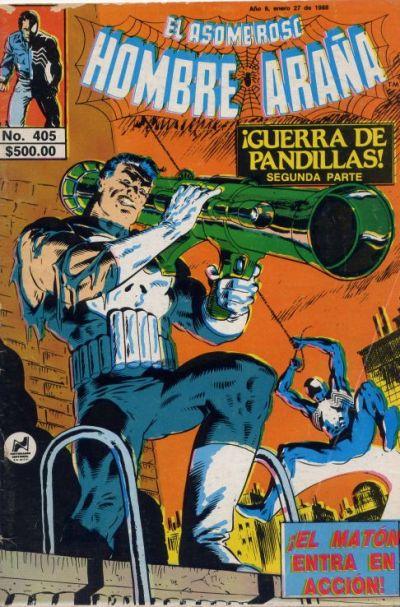 Cover for El Asombroso Hombre Araña (Novedades, 1980 series) #405