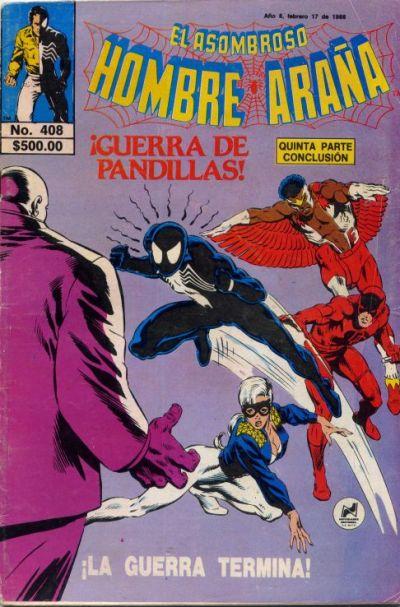 Cover for El Asombroso Hombre Araña (Novedades, 1980 series) #408