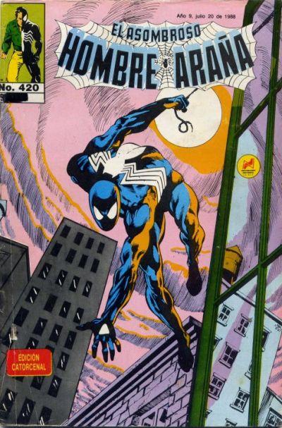 Cover for El Asombroso Hombre Araña (Novedades, 1980 series) #420