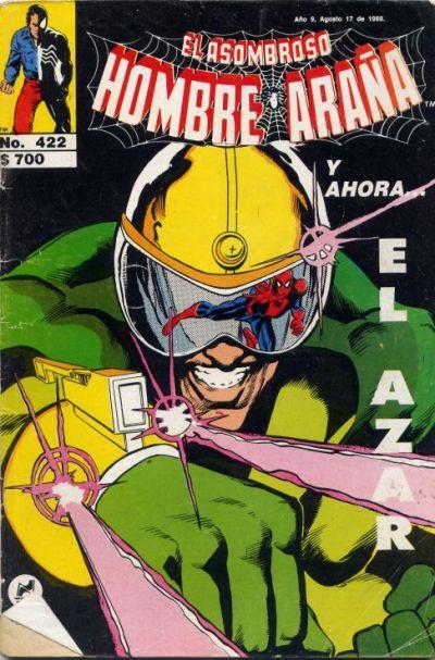 Cover for El Asombroso Hombre Araña (Novedades, 1980 series) #422