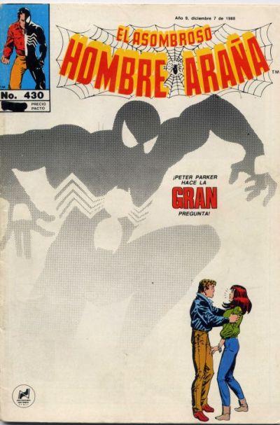 Cover for El Asombroso Hombre Araña (Novedades, 1980 series) #430