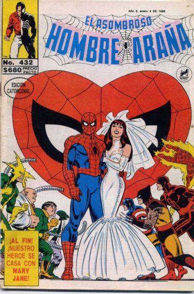Cover for El Asombroso Hombre Araña (Novedades, 1980 series) #432