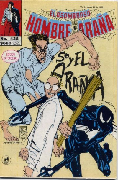 Cover for El Asombroso Hombre Araña (Novedades, 1980 series) #438