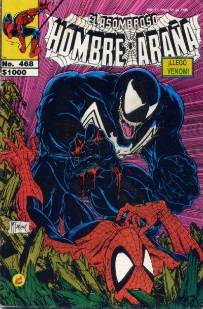 Cover for El Asombroso Hombre Araña (Novedades, 1980 series) #468