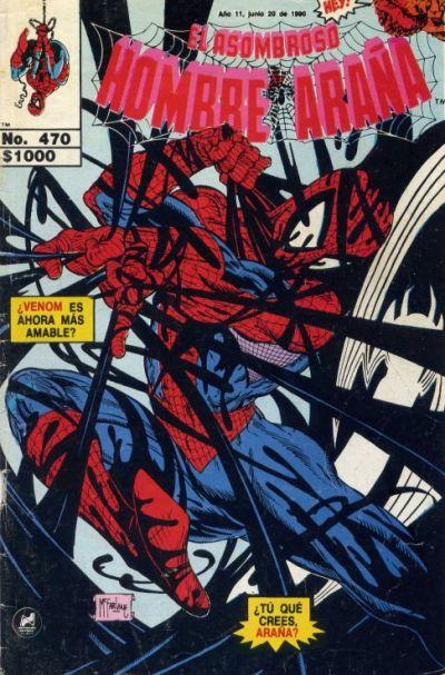 Cover for El Asombroso Hombre Araña (Novedades, 1980 series) #470