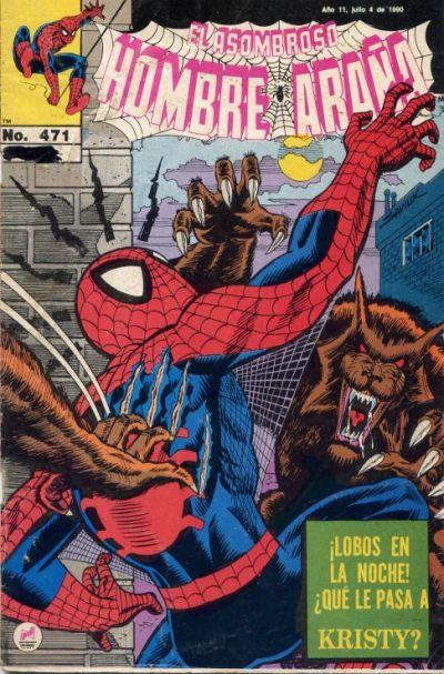 Cover for El Asombroso Hombre Araña (Novedades, 1980 series) #471