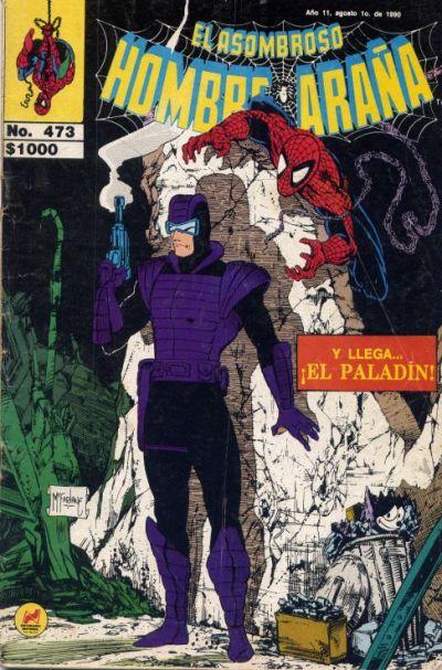 Cover for El Asombroso Hombre Araña (Novedades, 1980 series) #473