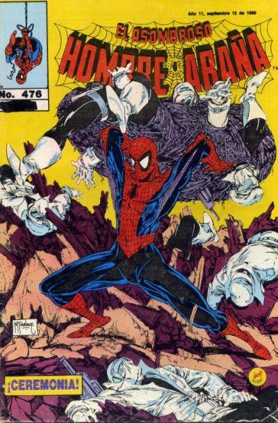 Cover for El Asombroso Hombre Araña (Novedades, 1980 series) #476