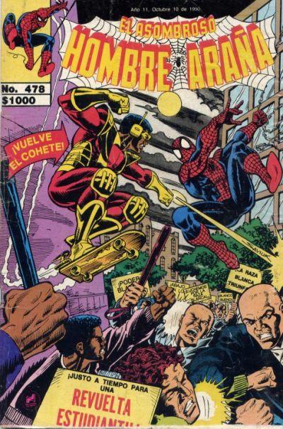 Cover for El Asombroso Hombre Araña (Novedades, 1980 series) #478