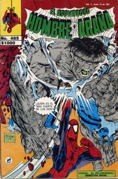 Cover for El Asombroso Hombre Araña (Novedades, 1980 series) #485