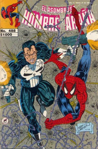 Cover for El Asombroso Hombre Araña (Novedades, 1980 series) #488