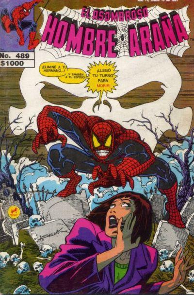 Cover for El Asombroso Hombre Araña (Novedades, 1980 series) #489