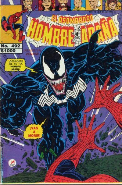 Cover for El Asombroso Hombre Araña (Novedades, 1980 series) #492