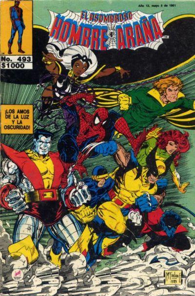 Cover for El Asombroso Hombre Araña (Novedades, 1980 series) #493