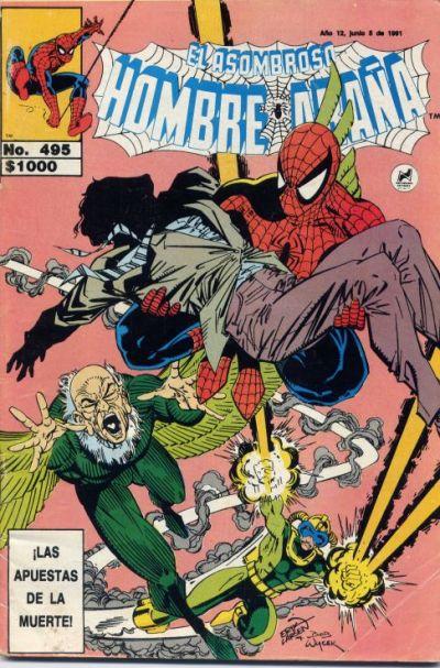 Cover for El Asombroso Hombre Araña (Novedades, 1980 series) #495