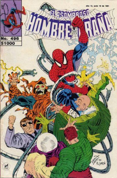 Cover for El Asombroso Hombre Araña (Novedades, 1980 series) #496