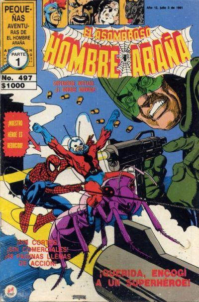 Cover for El Asombroso Hombre Araña (Novedades, 1980 series) #497