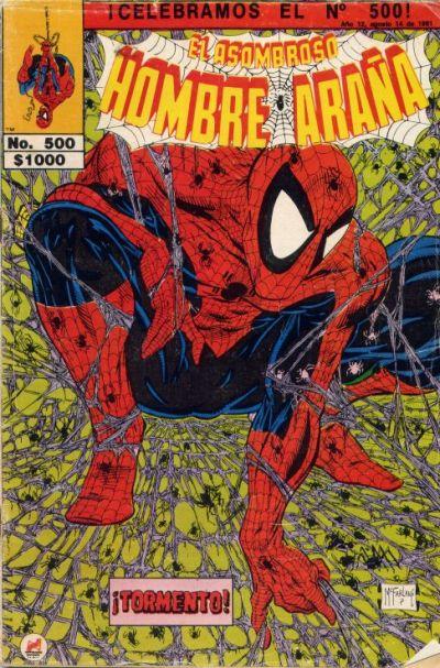 Cover for El Asombroso Hombre Araña (Novedades, 1980 series) #500