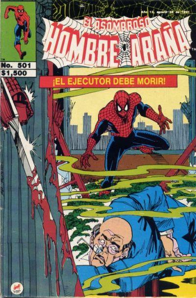 Cover for El Asombroso Hombre Araña (Novedades, 1980 series) #501