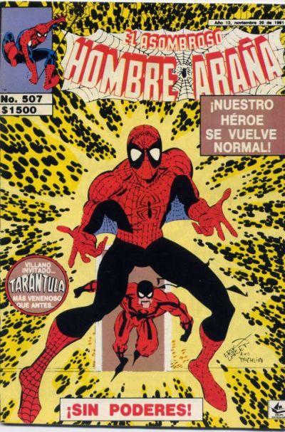 Cover for El Asombroso Hombre Araña (Novedades, 1980 series) #507
