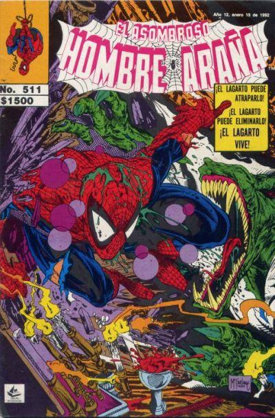 Cover for El Asombroso Hombre Araña (Novedades, 1980 series) #511