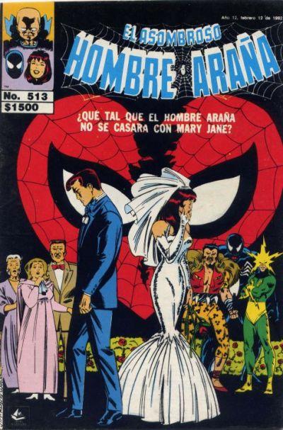 Cover for El Asombroso Hombre Araña (Novedades, 1980 series) #513