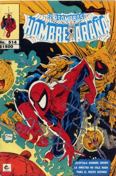 Cover for El Asombroso Hombre Araña (Novedades, 1980 series) #514