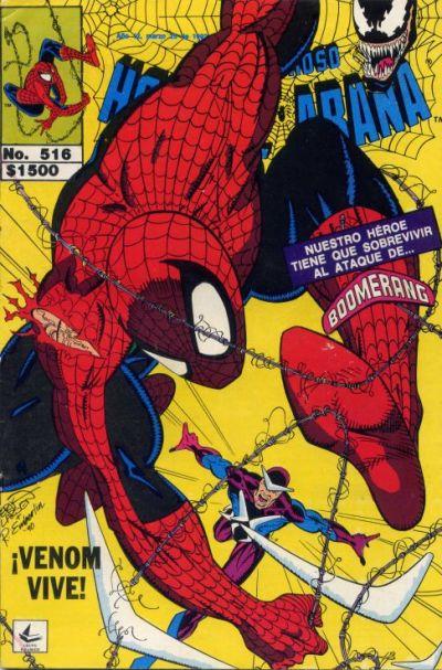 Cover for El Asombroso Hombre Araña (Novedades, 1980 series) #516