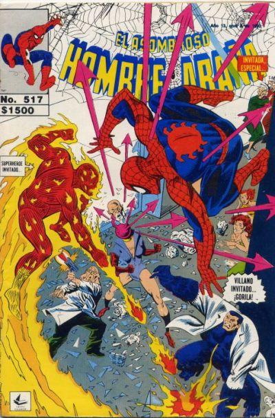 Cover for El Asombroso Hombre Araña (Novedades, 1980 series) #517