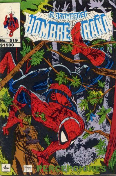 Cover for El Asombroso Hombre Araña (Novedades, 1980 series) #519
