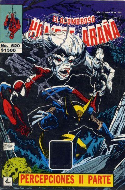 Cover for El Asombroso Hombre Araña (Novedades, 1980 series) #520