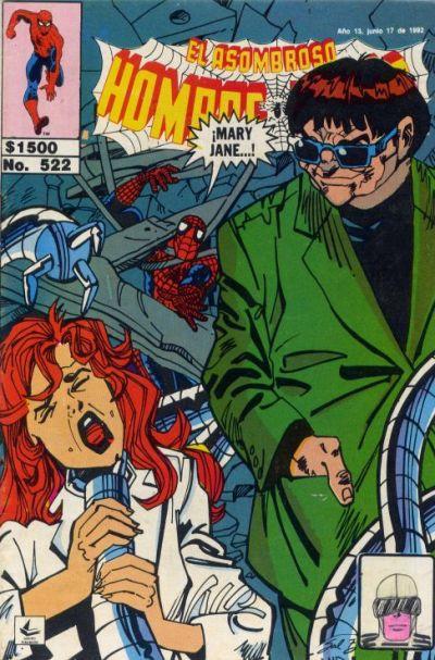 Cover for El Asombroso Hombre Araña (Novedades, 1980 series) #522