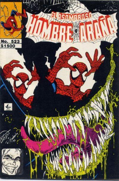 Cover for El Asombroso Hombre Araña (Novedades, 1980 series) #523