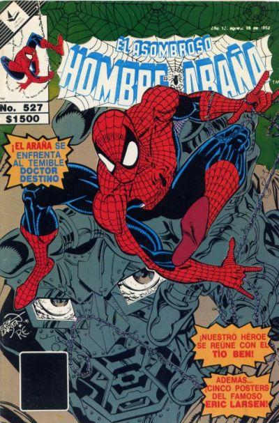 Cover for El Asombroso Hombre Araña (Novedades, 1980 series) #527