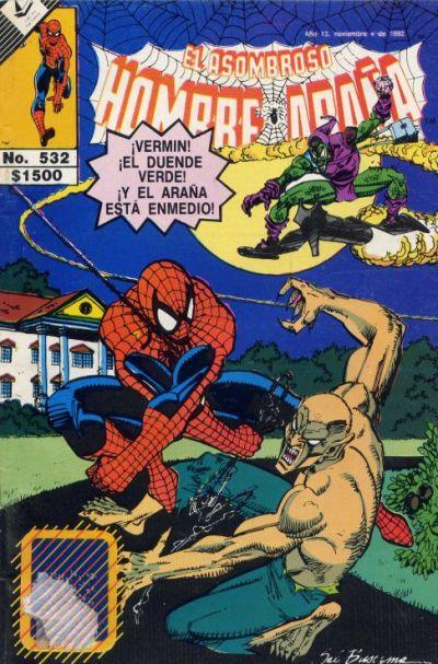 Cover for El Asombroso Hombre Araña (Novedades, 1980 series) #532