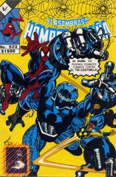 Cover for El Asombroso Hombre Araña (Novedades, 1980 series) #533