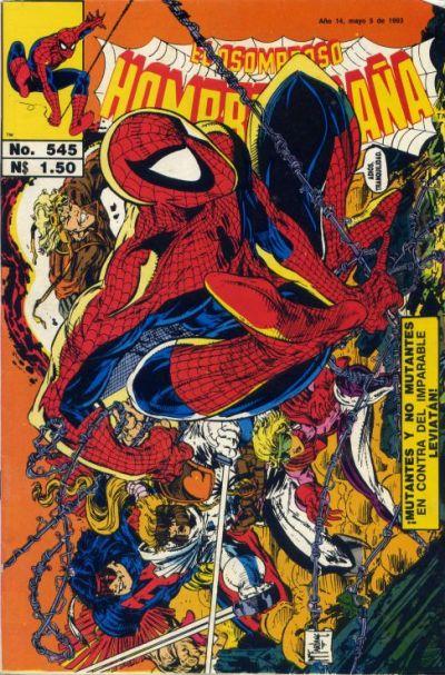 Cover for El Asombroso Hombre Araña (Novedades, 1980 series) #545