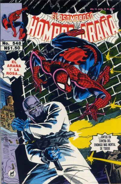 Cover for El Asombroso Hombre Araña (Novedades, 1980 series) #548