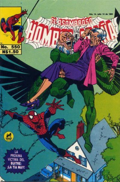 Cover for El Asombroso Hombre Araña (Novedades, 1980 series) #550