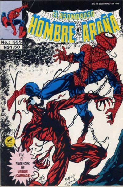 Cover for El Asombroso Hombre Araña (Novedades, 1980 series) #555