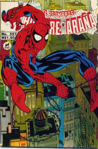 Cover for El Asombroso Hombre Araña (Novedades, 1980 series) #557
